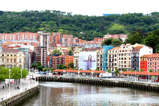 River in Bilbao, Spain - London travel blog