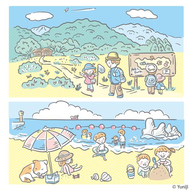 イラスト作品紹介(風景)