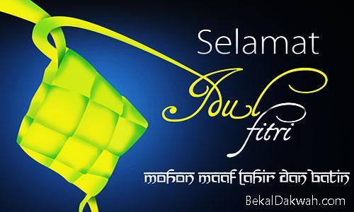 Kata-Kata Ucapan Selamat Hari Raya Lebaran Idul Fitri