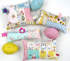 Easter spring pincushions