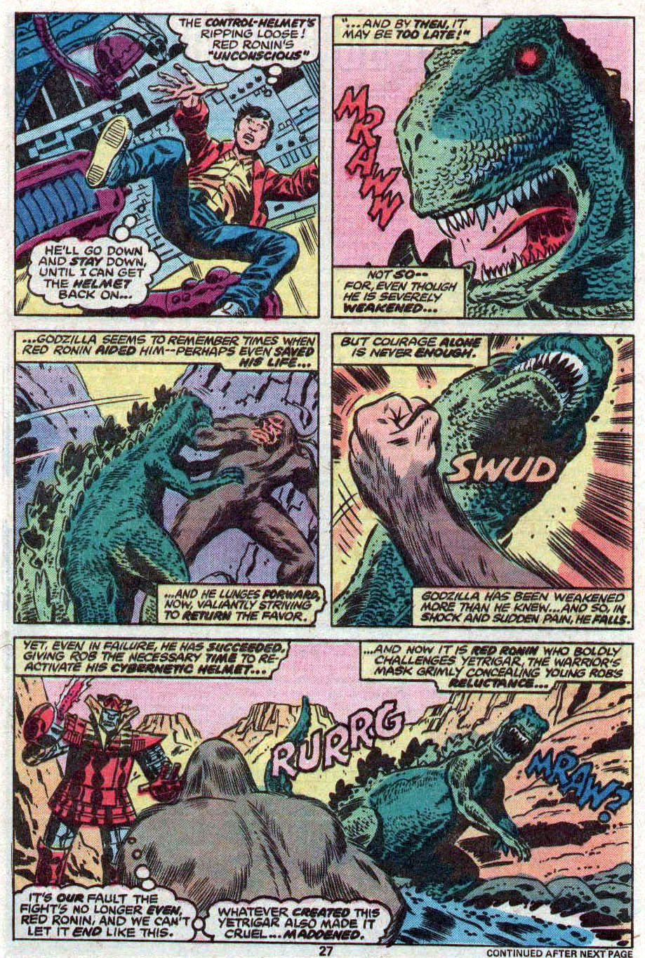 Godzilla (1977) Issue #11 #11 - English 16