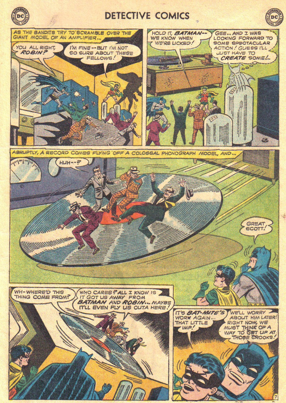 Read online Detective Comics (1937) comic -  Issue #267 - 9