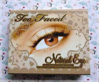 Palettes: Natural Eyes de Too Faced