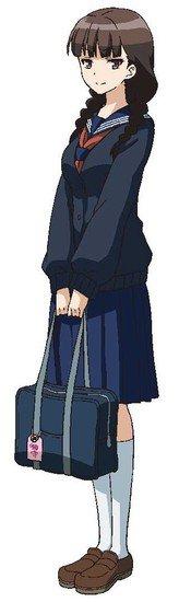 Mariko Honda como Kurobe de la historia Sensei to Issho