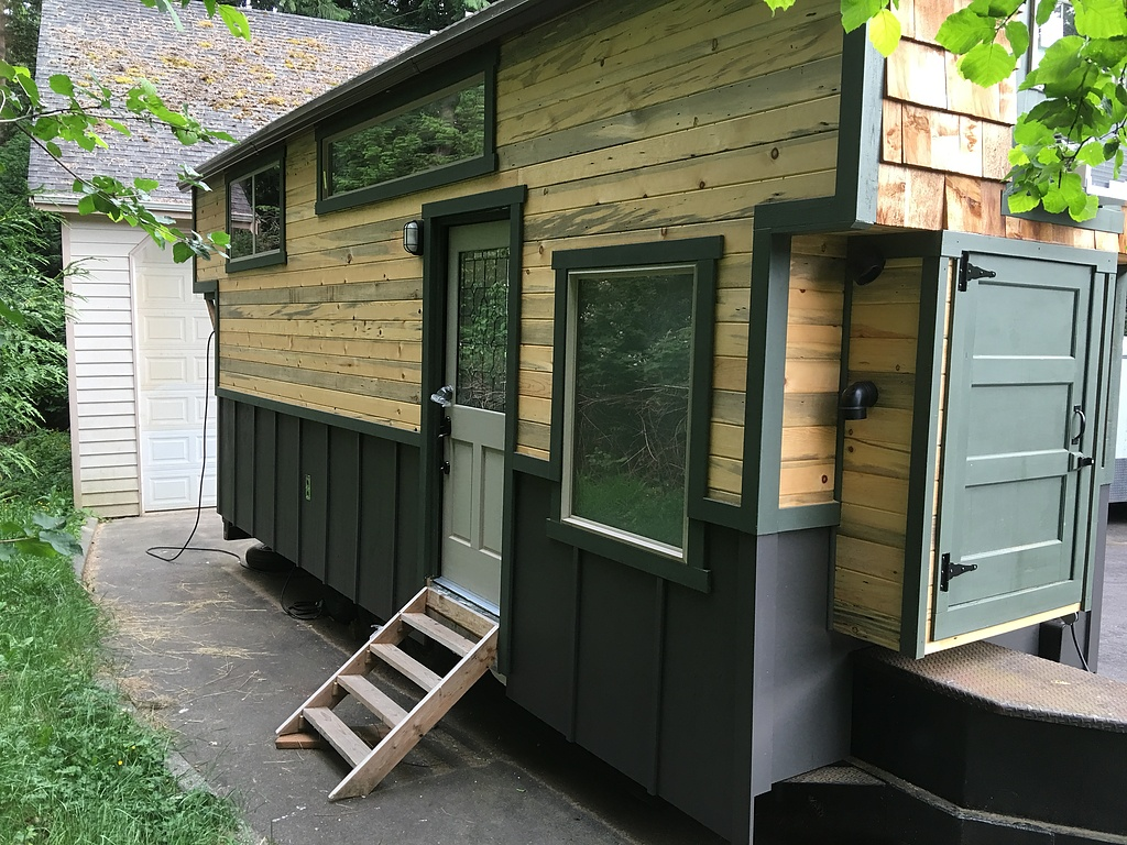 Tiny House Town Custom Vancouver Tiny House 320 Sq Ft