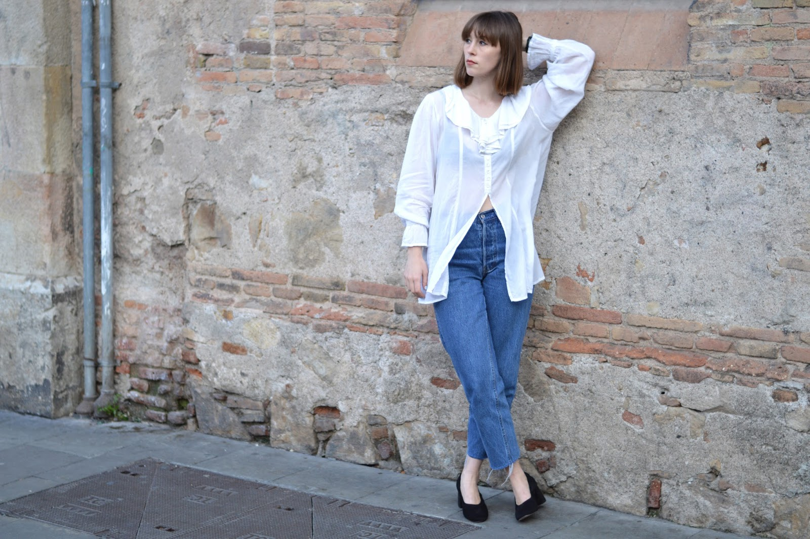 How to style ruffles and frayed denim for spring summer SS 16
