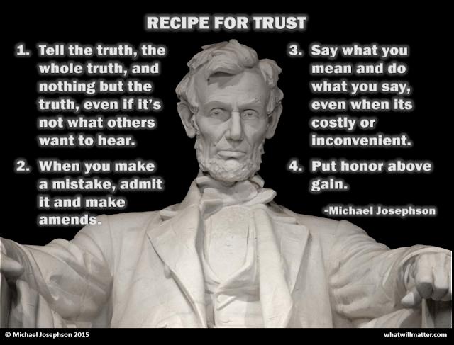 Recipe For Trust