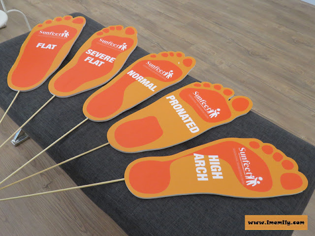 Sunfeet International feet type