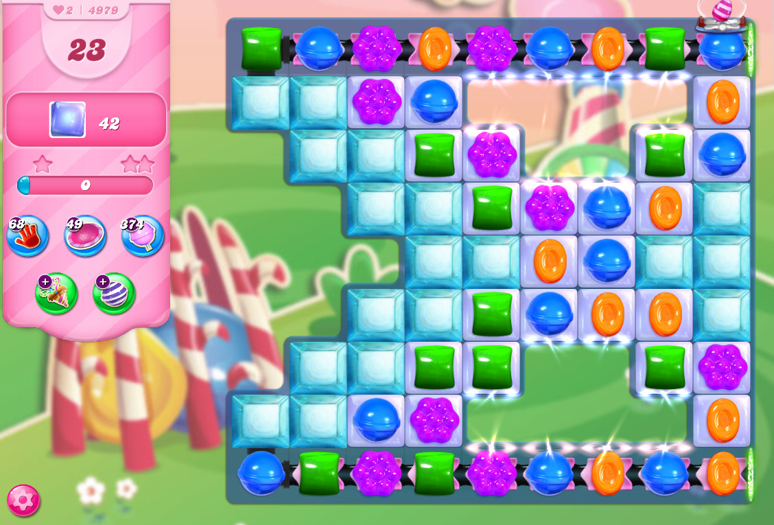 Candy Crush Saga level 4979