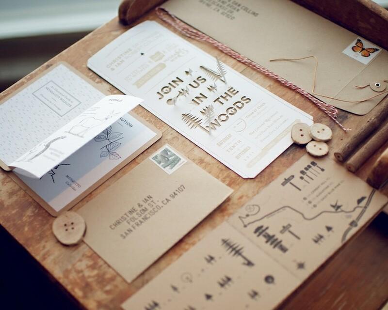 creative wedding card