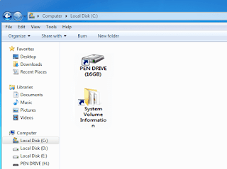 Folder became Shortcut in USb drive