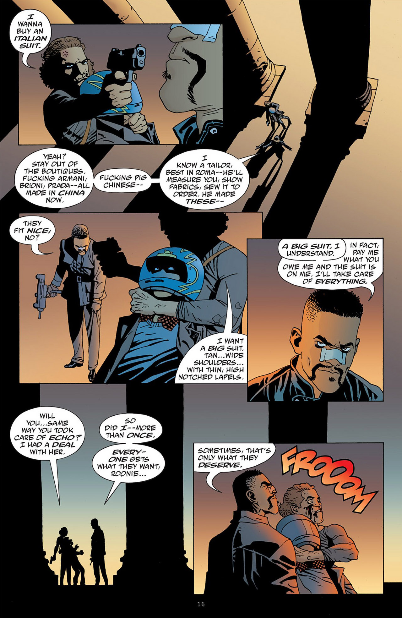 Read online 100 Bullets comic -  Issue #83 - 17