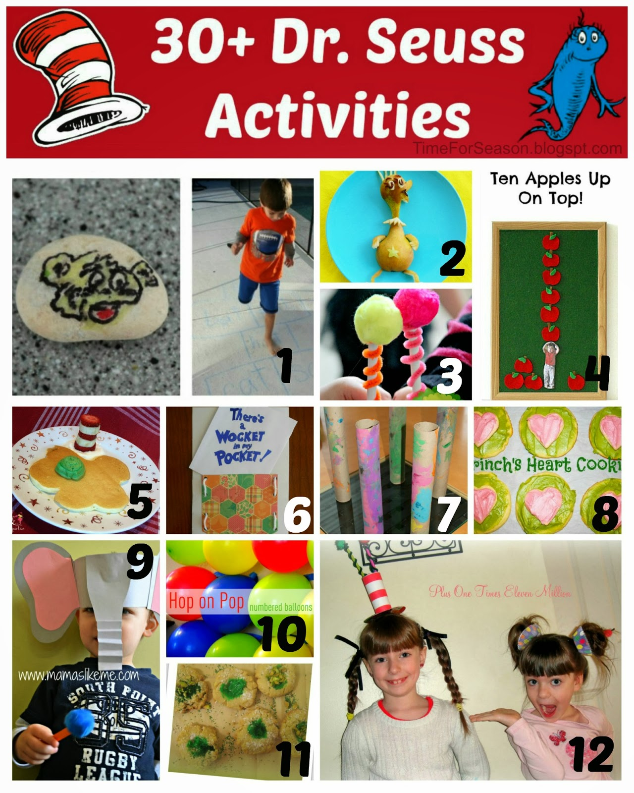 30 Dr Seuss Activities