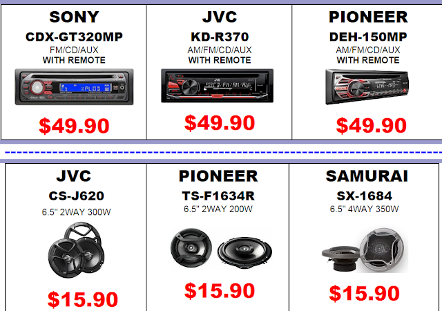 wholesale consumer electronics specials
