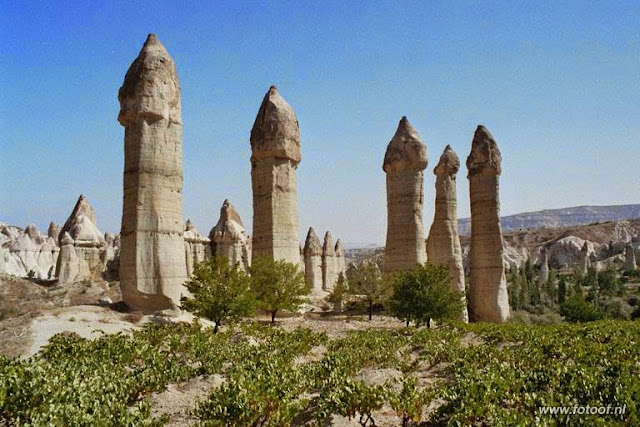Cappadocia Fairy Chimneys- Turkey