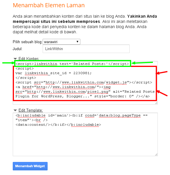Cara Mudah Menampilkan Related Post Dibawah Postingan Blog
