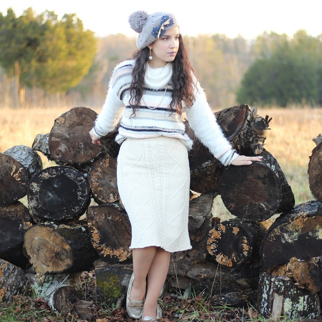 Shein Sweater Skirt