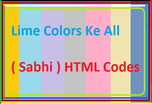Lime-Colors-Ke-Sabhi-Html-Codes