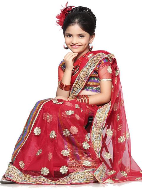 jual baju sari india anak online