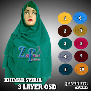 Khimar-Nonpet-OSD-Polos-3susun-Cantik-Model-Terbaru