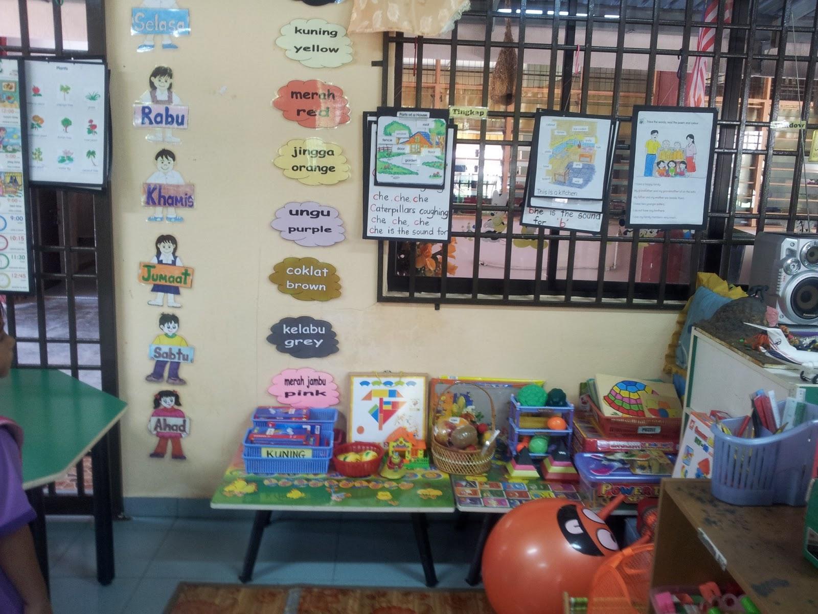 Prasekolah Sk Seri Indah Sudut Pra