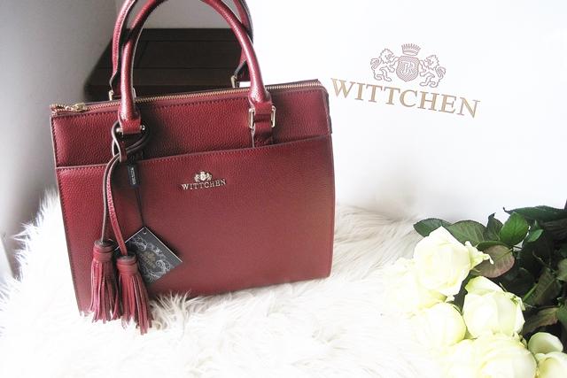 b1546eafa1522 Bordowa torebka z chwostami Wittchen - czyli moja zdobycz z Lidla ...