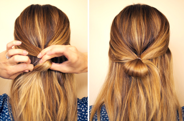 Astonishing Hair And Make Up By Steph How To Hair Bow Short Hairstyles Gunalazisus