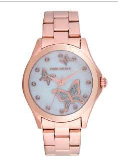 reloj pulsera en acero para mujer