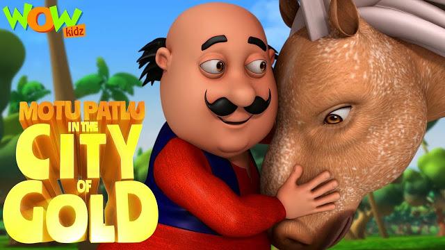 Motu Patlu In The City Of Gold Hindi Full Movie Download Hd 720p