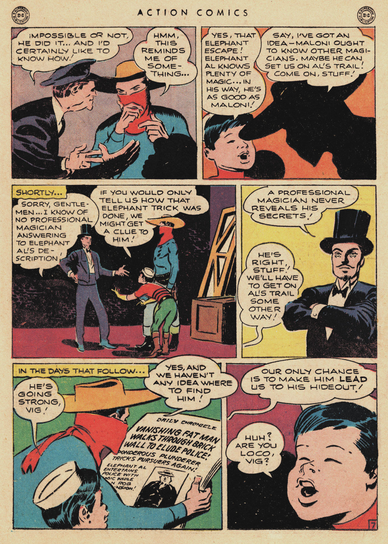 Read online Action Comics (1938) comic -  Issue #94 - 28
