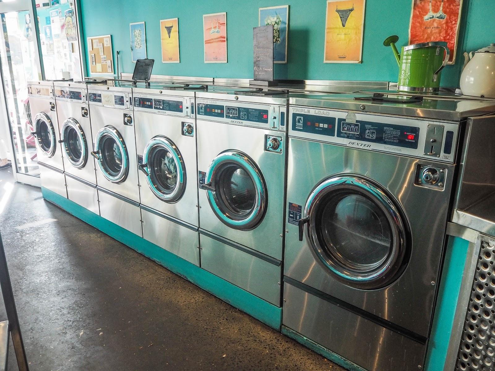 Vintage laundromat