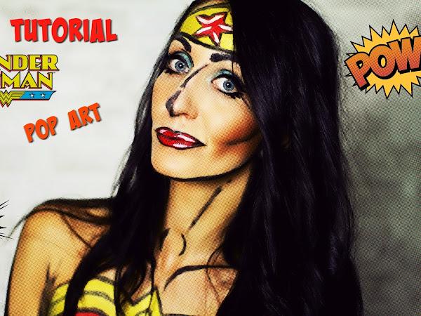 Makeup Pop'Art - Wonder Woman