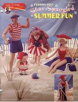 Crochê Para Barbie - Maiô, Toalha, Chapéus e Vestidos Para Bonecas