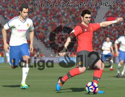 PES 2016 La Liga 2 Santander (Adelante) Kitpack