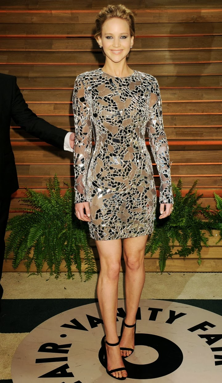 Jennifer Lawrence stuns in a Tom Ford mini dress at the ...