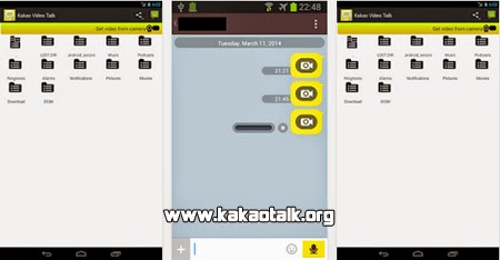 Envia videos a tus amigos con Kakao Video Talk