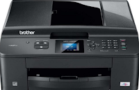 Brother MFC-J435W is a squat device that can print, scan, copy and fax. There is also a smallish color screen and wireless network