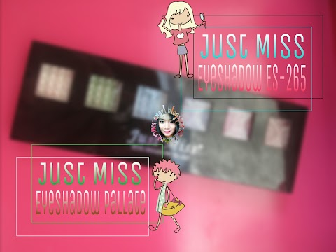 Review Just Miss Eyeshadow ES-265 (Eyeshadow Palette)