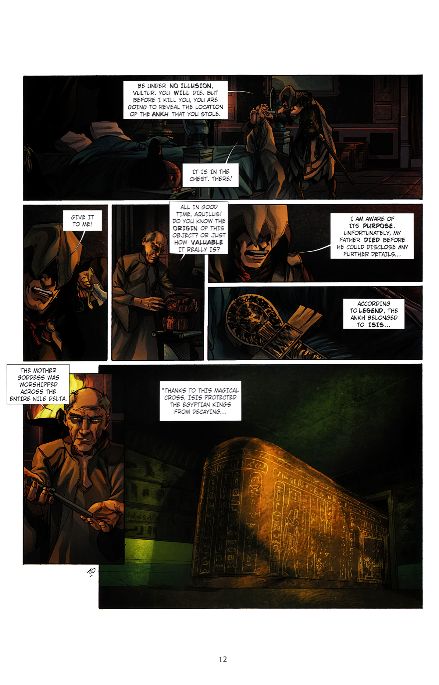Read online Assassin's Creed (2012) comic -  Issue #3 - 16