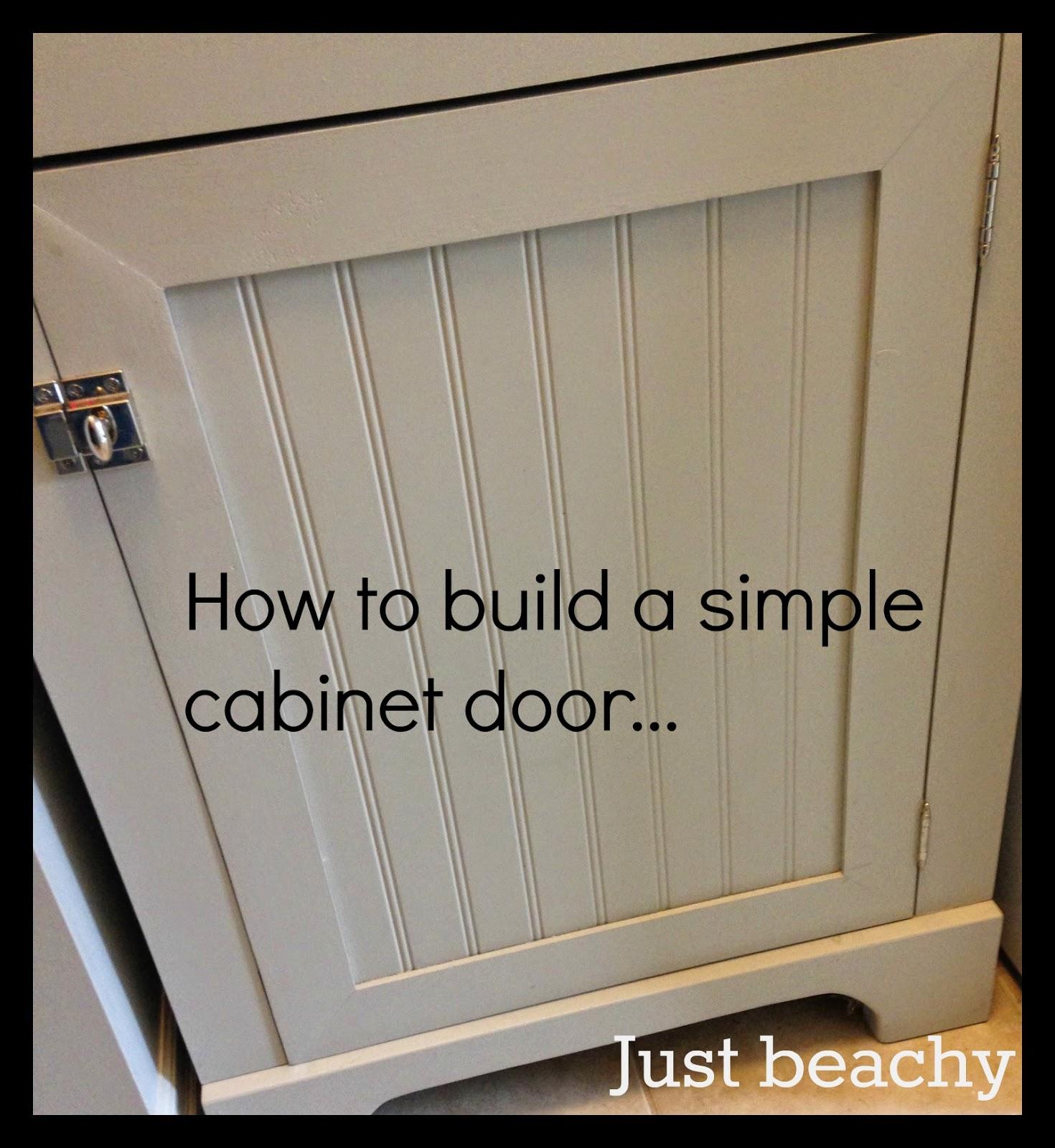 Kitchen Cabinet Doors Diy: White Wood : DIY Shaker Doors