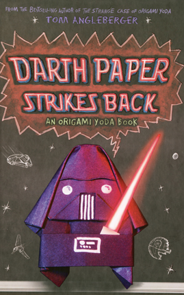 The Book Zone: Review: Darth Paper Strikes Back by Tom