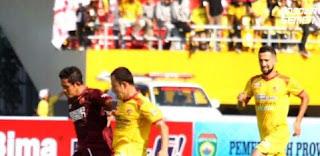 Sriwijaya FC vs PSM Imbang 0-0 Hasil Liga 1 Minggu 28 April 2018