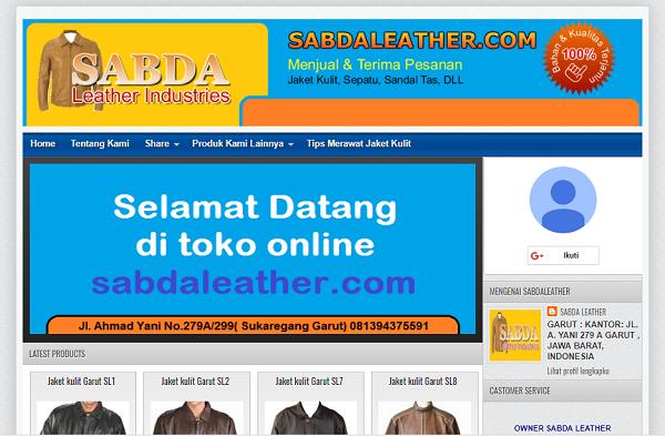 Website Sabdaleather