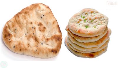 Naan, nan food,নান্ রুটি