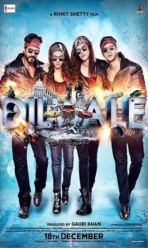 Dilwale (2015) Full Hindi Movie Download 720p BRRip