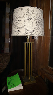 $2 Hotel Lamp from the Thrift Shop
