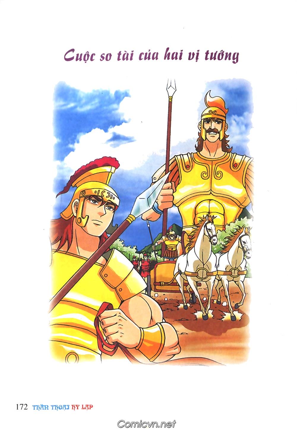Thần Thoại Hy Lạp Màu - Chapter 61: So tài của hai vị tướng - Pic 1