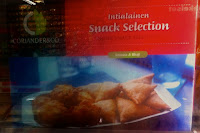 """Intialainen Snack selection"""