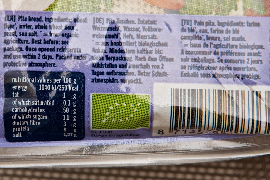 Pain Pita - Pita Bread - Terrasana - Bio Pita