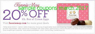 Fannie May coupons for march 2017